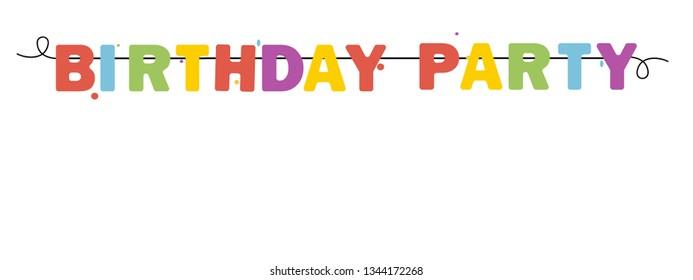 Happy Birthday Banner, Background