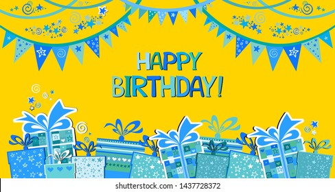 Happy Birthday Images, Stock Photos & Vectors | Shutterstock