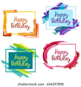 Birthday Frame Images Stock Photos Vectors Shutterstock