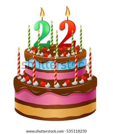 Happy Birthday Cake 22