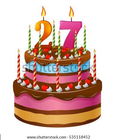 Happy Birthday Cake 27