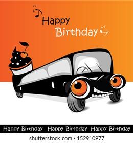Happy Birthday Car Joyfully