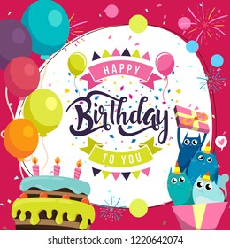 1000 Birthday Party Cartoon Pictures Royalty Free Images Stock