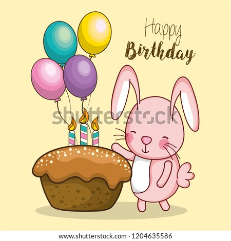 Happy Birthday Card Cartoons