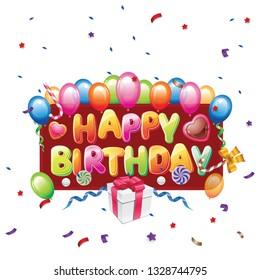 happy birthday card cute