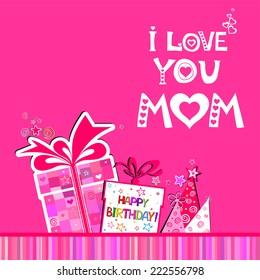 happy birthday mom images stock photos vectors shutterstock