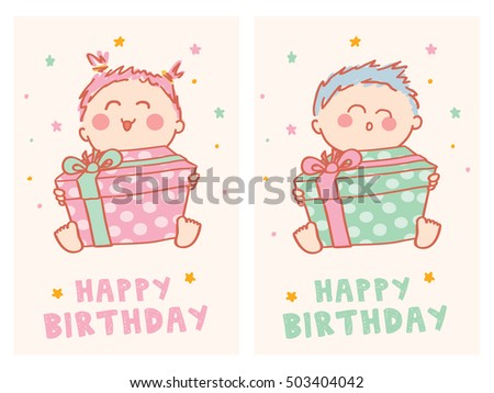 Happy Birthday Cards With Cute Baby