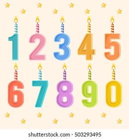 Happy Birthday Elements : Vector Illustration
