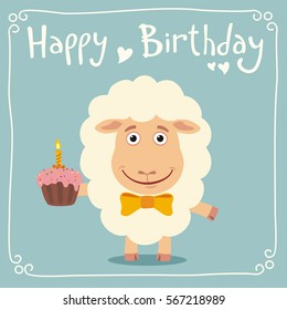 Royalty Free Birthday Sheep Images Stock Photos Vectors