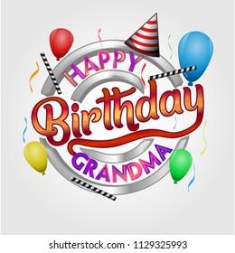 Grandma Birthday Images Stock Photos Vectors