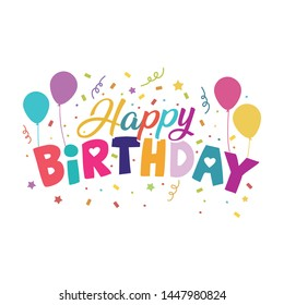 Happy Birthday Banner Images, Stock Photos & Vectors