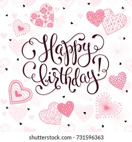 500 Happy Birthday Heart Pictures Royalty Free Images Stock