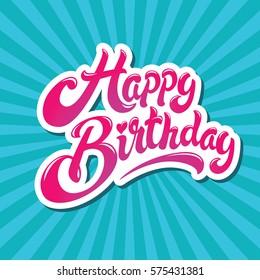 Happy Birthday Images, Stock Photos & Vectors | Shutterstock