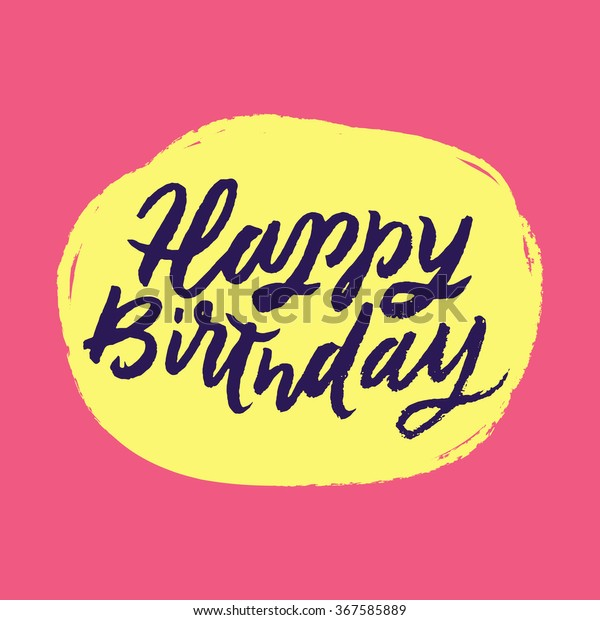 vector de stock libre de regalias sobre happy birthday
