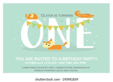 Birthday Invitation For Boys Images Stock Photos Vectors