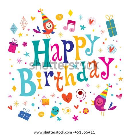 Happy Birthday Kids Greeting Card