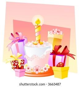 Happy birthday, little girl!
