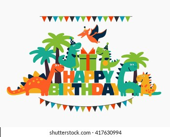Dinosaur Birthday Images Stock Photos Amp Vectors