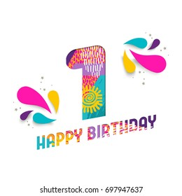 1st birthday images stock photos vectors shutterstock