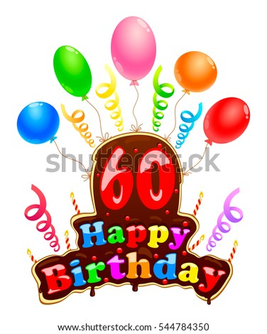 happy birthday sign form cake banner stock vector royalty free