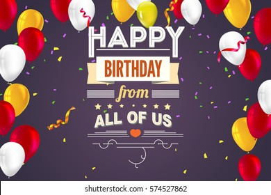 happy birthday poster images stock photos vectors shutterstock
