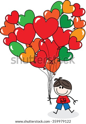 Happy Birthday Valentines Day Love Stock Vector Royalty Free