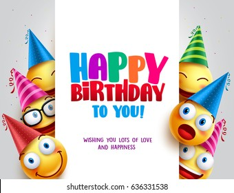 Happy Birthday Vector Stock Illustrations Images