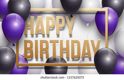 Happy Birthday Card Man Images Stock Photos Vectors
