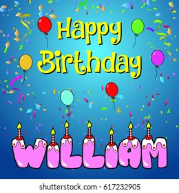 happy birthday william