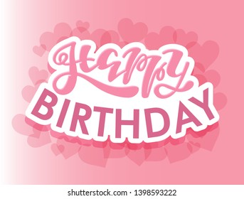 Happy Birthday Text Images, Stock Photos & Vectors | Shutterstock
