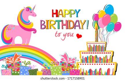Horses Happy Birthday Images Stock Photos Vectors Shutterstock