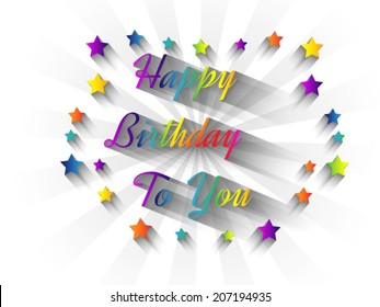 HAPPY BIRTHDAY TO YOU SPECIAL