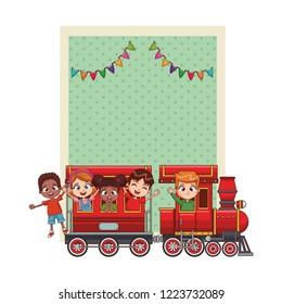 Happy bithday kids card