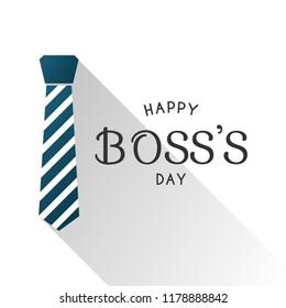 Happy boss's day design, vector eps 10