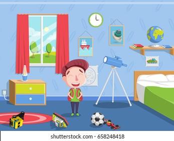 Poster Kid Bedroom Stock Vectors Images Vector Art Shutterstock