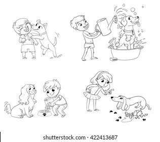 Vectores Imágenes Y Arte Vectorial De Stock Sobre Niño