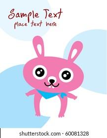 happy bunny greeting card