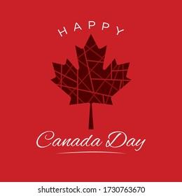 Happy Canada Day Social Media Post