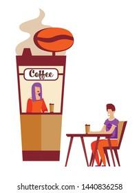 Ilustraciones, imágenes y vectores de stock sobre Coffee Cup