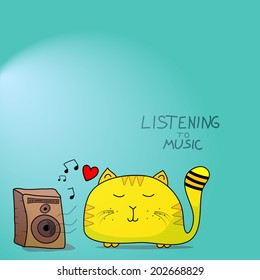 Imágenes, fotos de stock y vectores sobre Cats Music