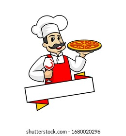 Happy Chef Vector logo template