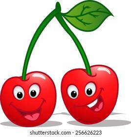 cartoon cherry images stock photos vectors shutterstock rh shutterstock com cartoon cherry picker cartoon cherry images