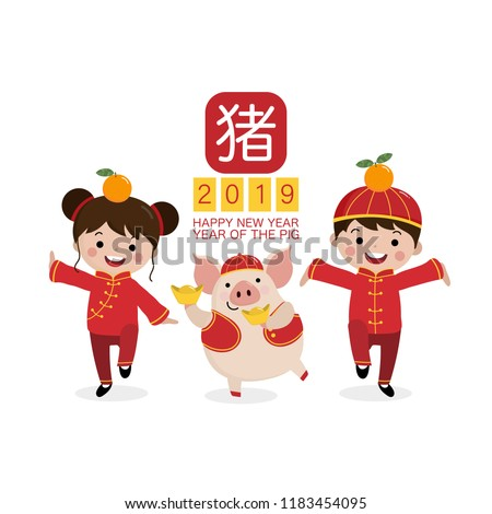 chinese new year 2019 animal