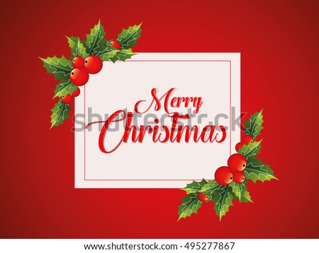 Happy Christmas Day Stock Vector (Royalty Free) 495277867 - Shutterstock