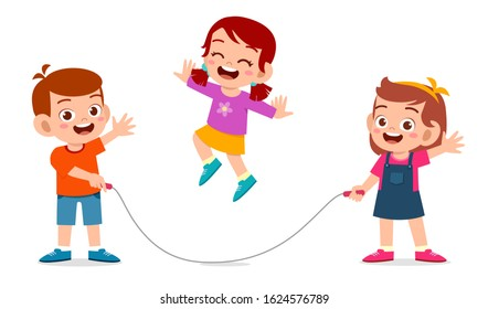 Jumping Rope Clipart Images, Stock Photos & Vectors | Shutterstock