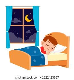 Kids Making Bed Images, Stock Photos & Vectors   Shutterstock
