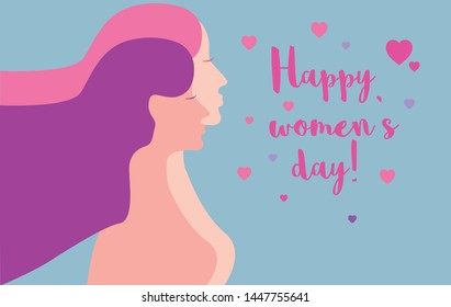 Happy Women's Day. International holiday of female solidarity, which is celebrated on March 8. Women's History Month. The annual month that highlights the contributions of women to events in history.