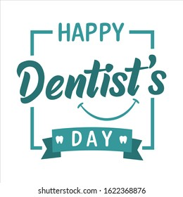 Happy Dentist's Day on March 6