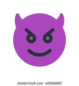happy devil emoji