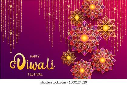 Happy Diwali Festival \u002F The festival of lights